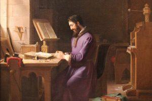 Gutenberg Inventing Printing