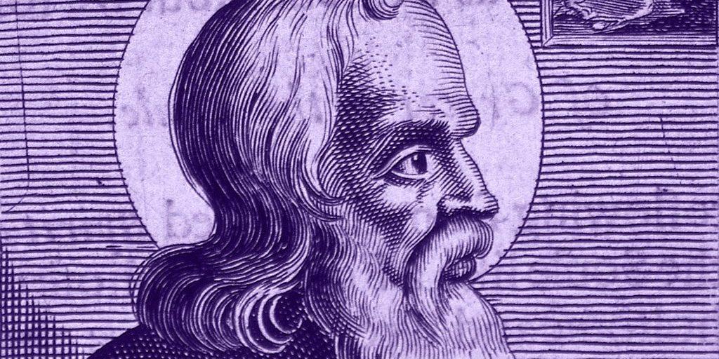 Saint Polycarp, Engraving