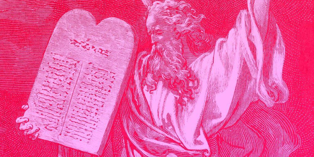 Ten Commandments Intro